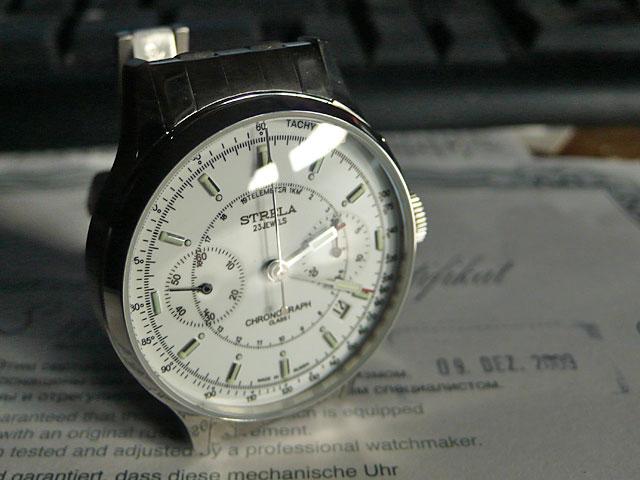 Revue Strela blanche bracelet acier 07